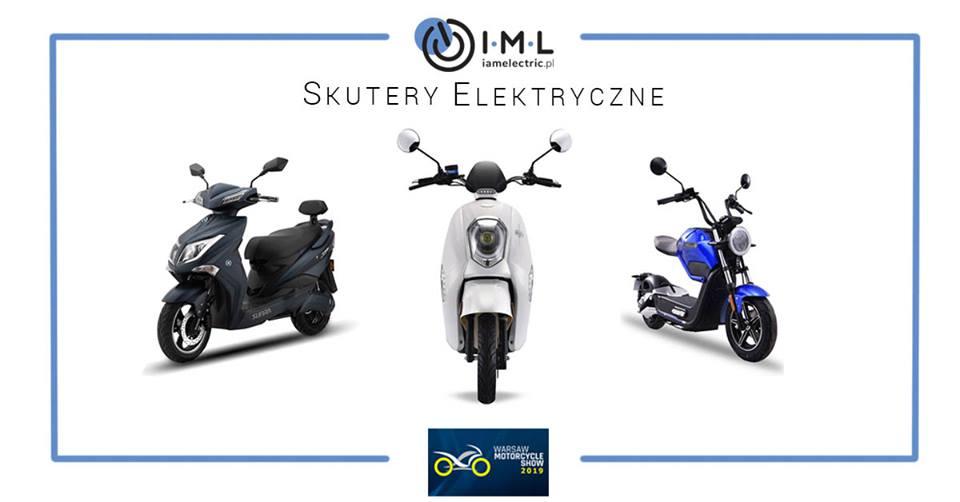 Warsaw Motocycle Show 2019 - skutery elektryczne