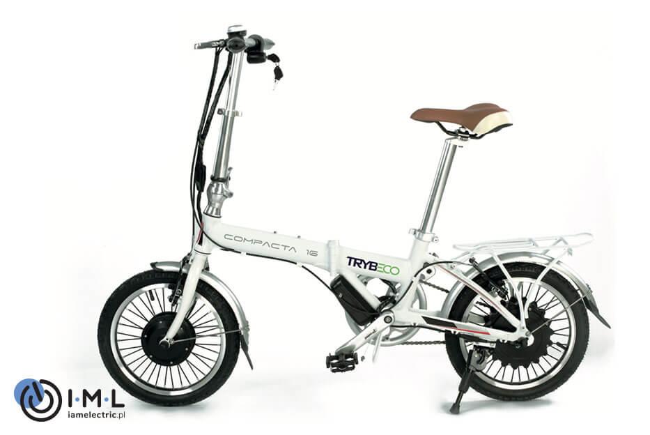 rower-elektryczy-składany-compacta16-biały