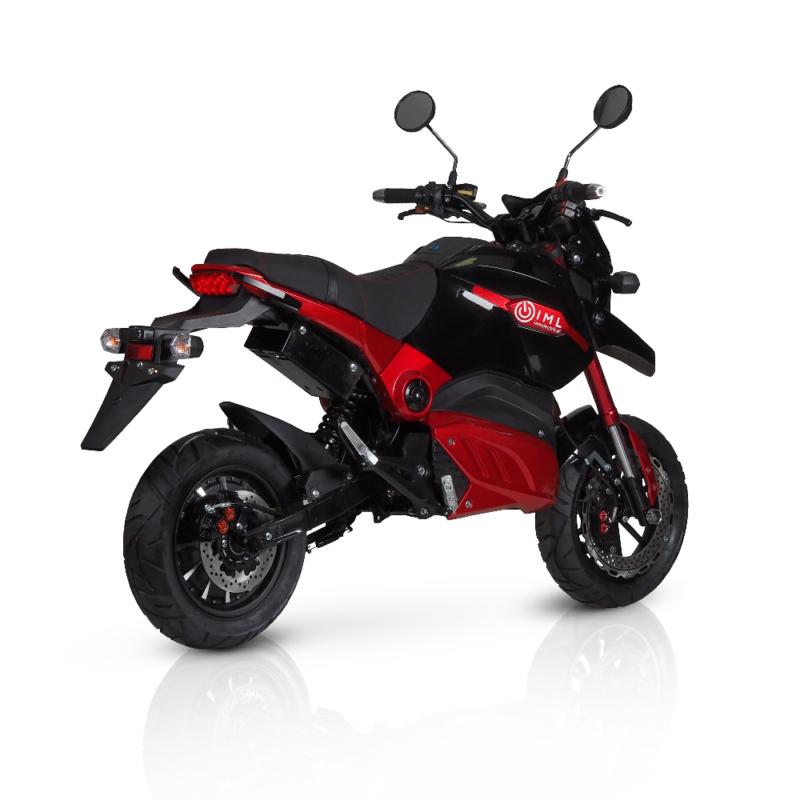 Motor elektryczny Blade S czarno-czerwony