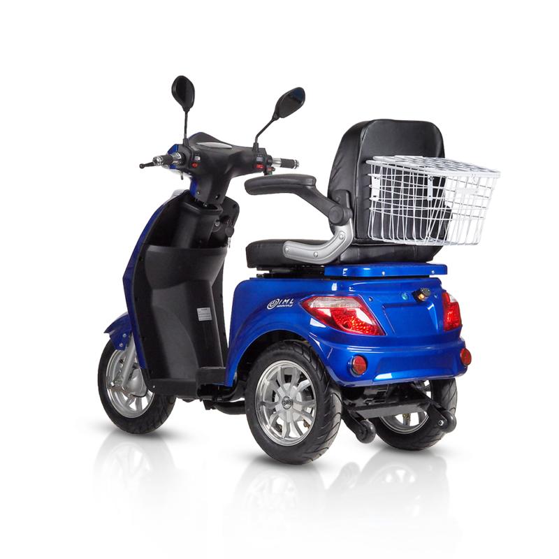 Pojazd elektryczny inwalidzki Life niebieski
