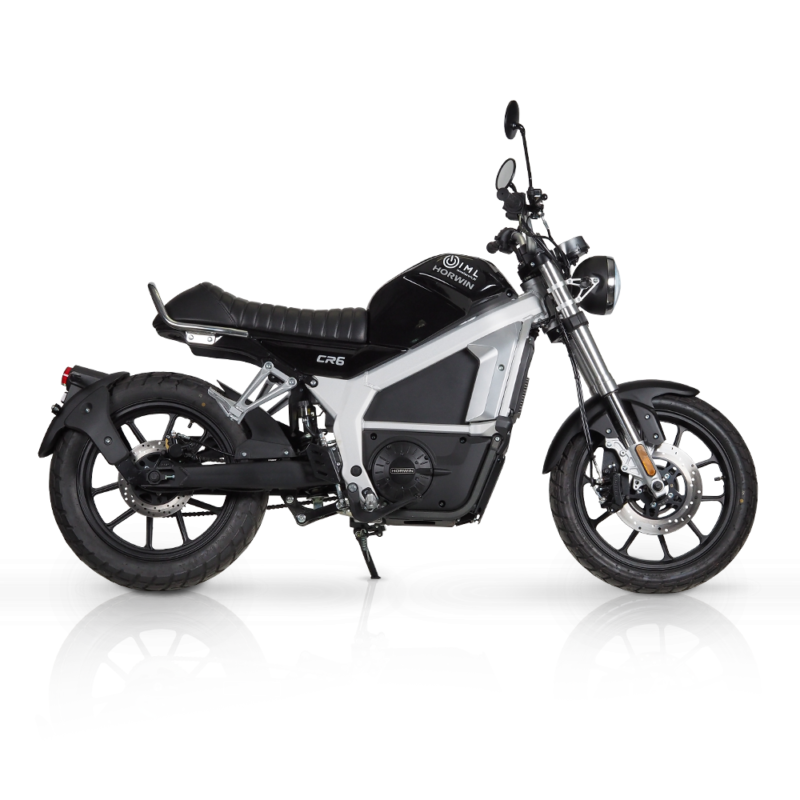 Motocykl elektryczny Horwin CR6 czarny