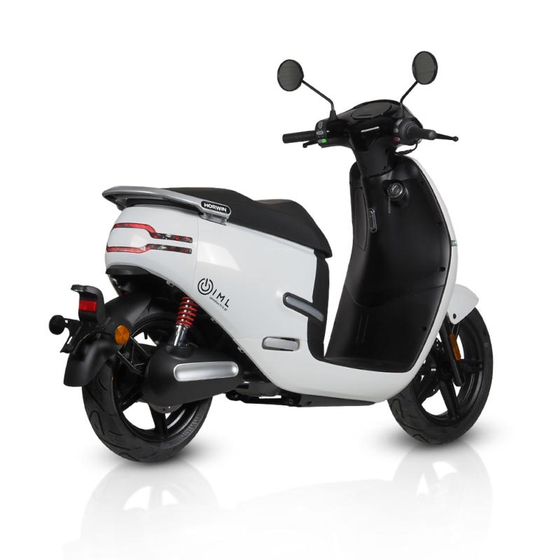 Motocykl elektryczny Horwin Ek3 biały iamelectric