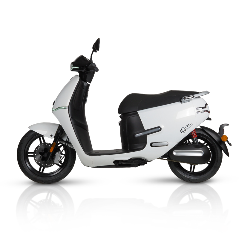 Motocykl elektryczny Horwin Ek3 biały