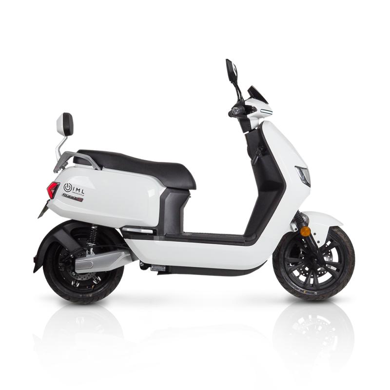 Motocykl elektryczny Sunra Robo-S biały