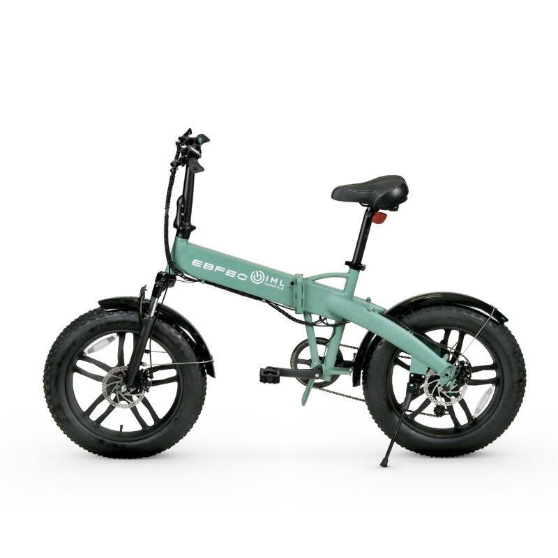 Rower elektryczny składany Fatbike