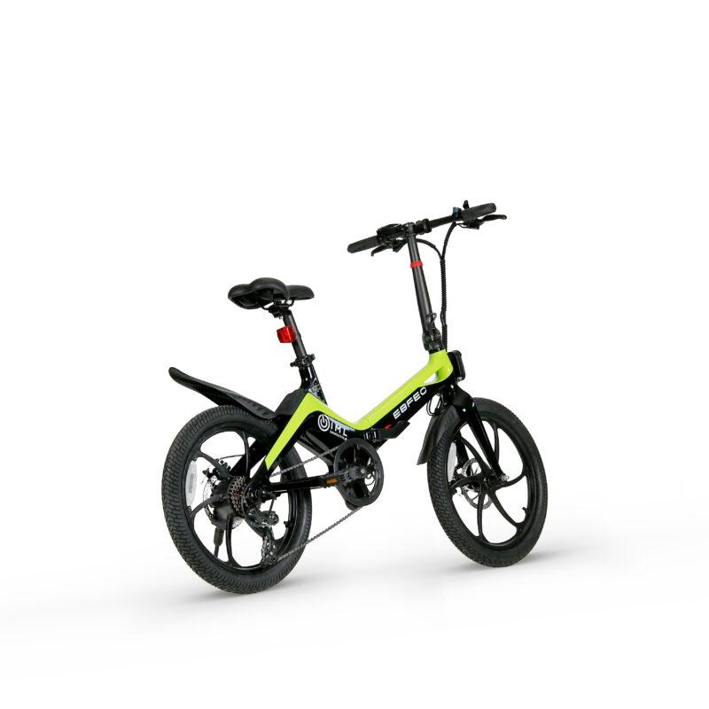 Rower elektryczny Skinny zielony