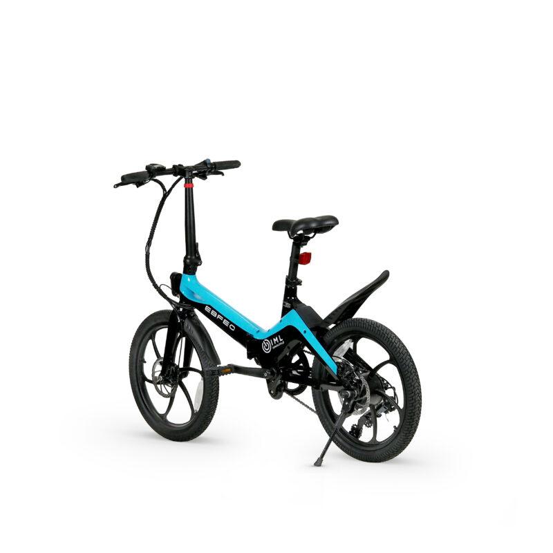Rower elektryczny Skinny niebieski