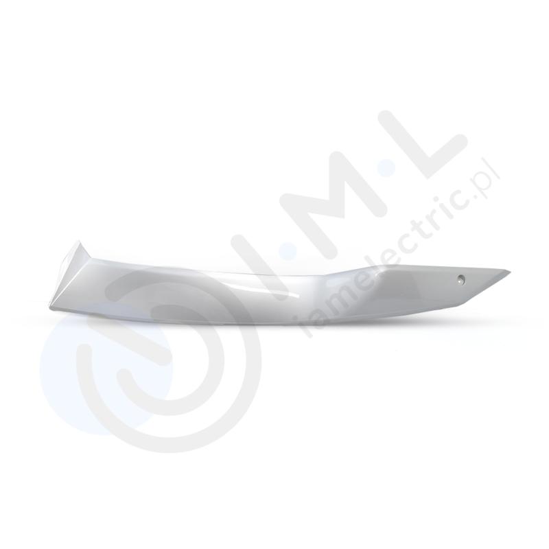 Å›rodkowy panel boczny lewy srebrny do skutera elektrycznego hawk