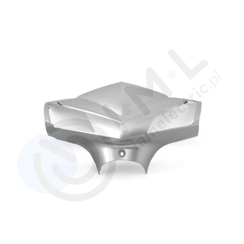 Hawk element plastikowy kierownicy srebrny