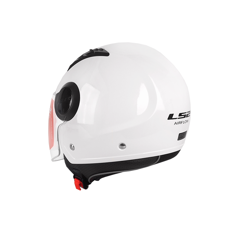 Kask LS2 bia艂y
